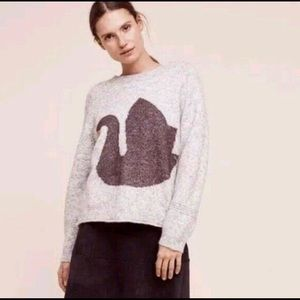 Folk by Hansel From Basel Swan Sweater